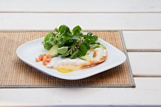 Langoustines au Noilly Prat und Poulet crème et Morilles – Foodbloggerevent France Bon Appétit Teil 2