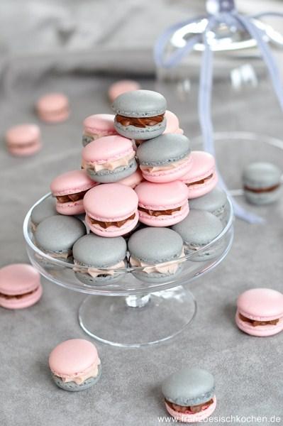 Macarons à la réglisse et à la Badiane (Lakritz und Sternanis Macarons)