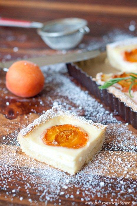 Tarte Abricot-Romarin (Rosmarin- Aprikosen Tarte)