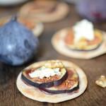 Tartes fines figues – Roquefort ( feine Feigen-Roquefort Tartes )