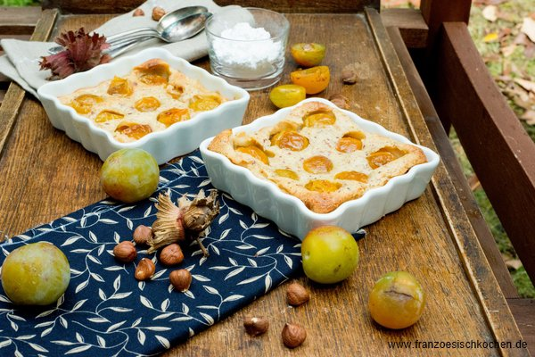 Clafoutis Aux Mirabelles Rezept Französisch Kochen