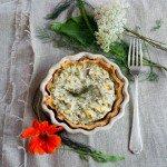 Quiche aux herbes sans gluten (glutenfreie Quiche mit Kräutern)