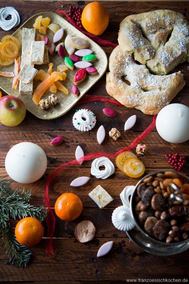 Pompe à l\'huile et les 13 desserts de Noël (13 weihnachtliche ...