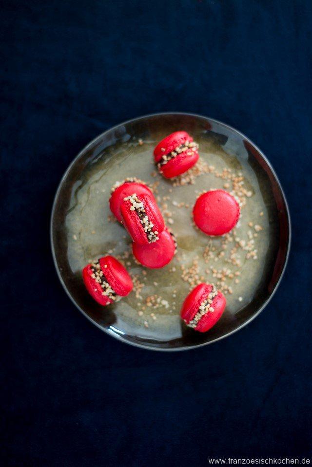 Knusprige Macarons Rezept Französisch Kochen
