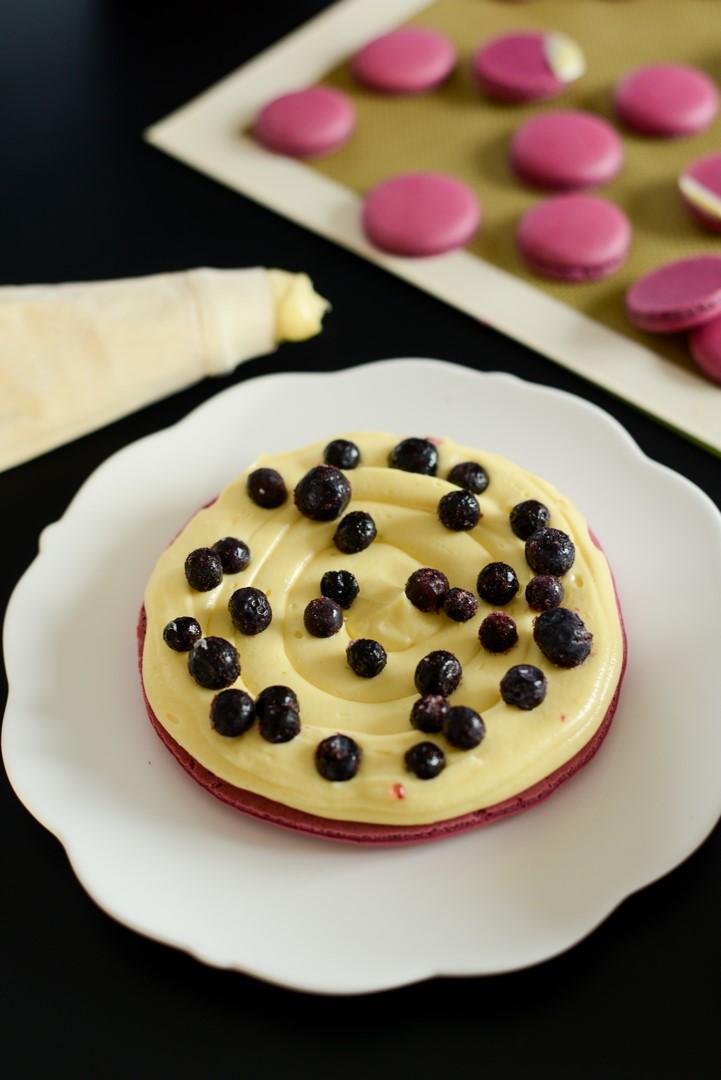gateau-de-macarons-myrtilles-et-violettes--macarons-kuchen-mit-blaubeeren-und-veilchen--dsc90741-kopie