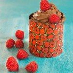 Entremets Passion / Mousse au chocolat