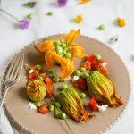 Gefüllte Zucchiniblüten (Fleurs de courgettes farcies)