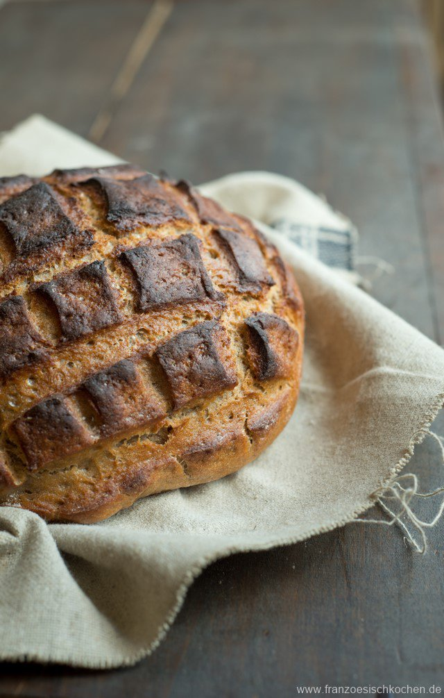 Vollkornbrot mit Roggen (pain complet au seigle)