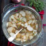 Sommerliche Pfirsisch-Zitronen-Thymian Suppe (Soupe de Pèches et Thym Citron)