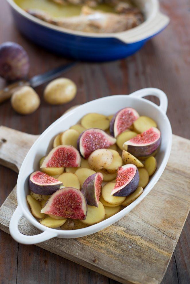 Enten-Confit mit Zimt, Feigen & Kartoffeln à la sarladaise (Confit ...