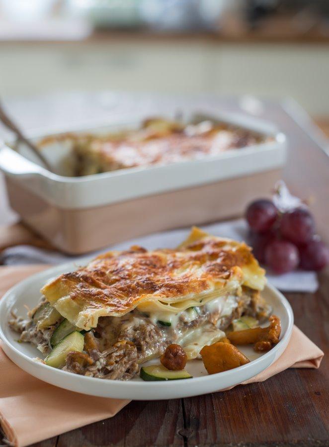 lasagne-mit-entenconfit--pfifferlingen-und-das-basisrezept-fur-bechamel-sauce-faq-dsc6941kopie