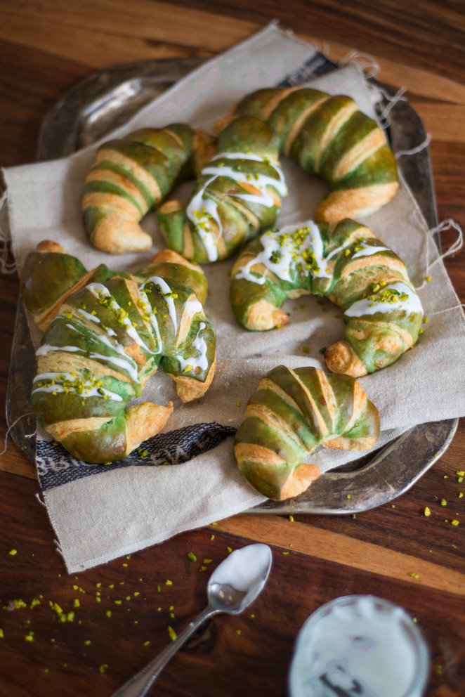 Pistazien-Croissants (Croissants à la pistache)