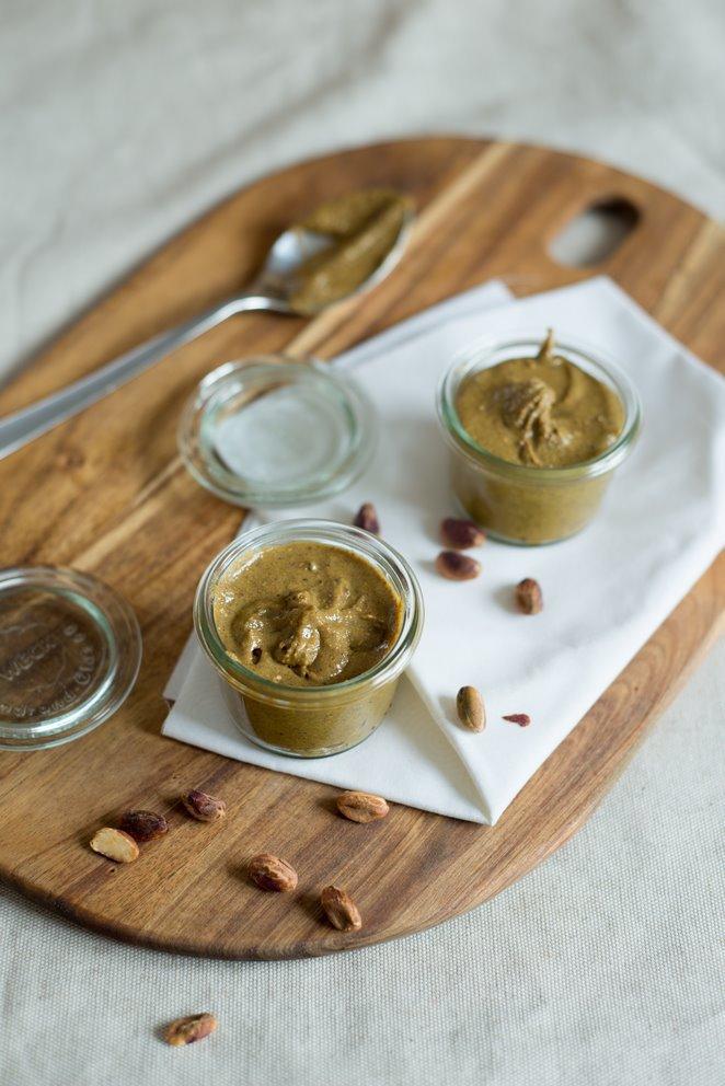 Pistazienpaste selber machen (Pâte de pistache faite maison)
