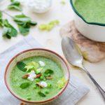 Gesunde grüne Suppe