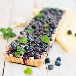 Blaubeer Tarte mit Mandelcreme