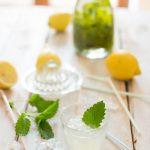 Selbstgemachte Melisse-Zitronen-Limonade