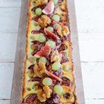 Tarte mi-figue mi-raisin (Feigen- und Weintrauben-Tarte mit Walnüssen)