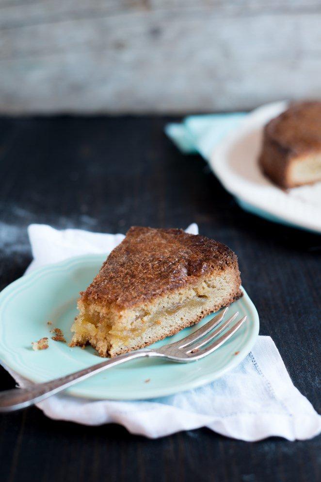 Bretonischer Kuchen mit Äpfeln und Calvados – Gâteau breton aux Pommes et au Calvados