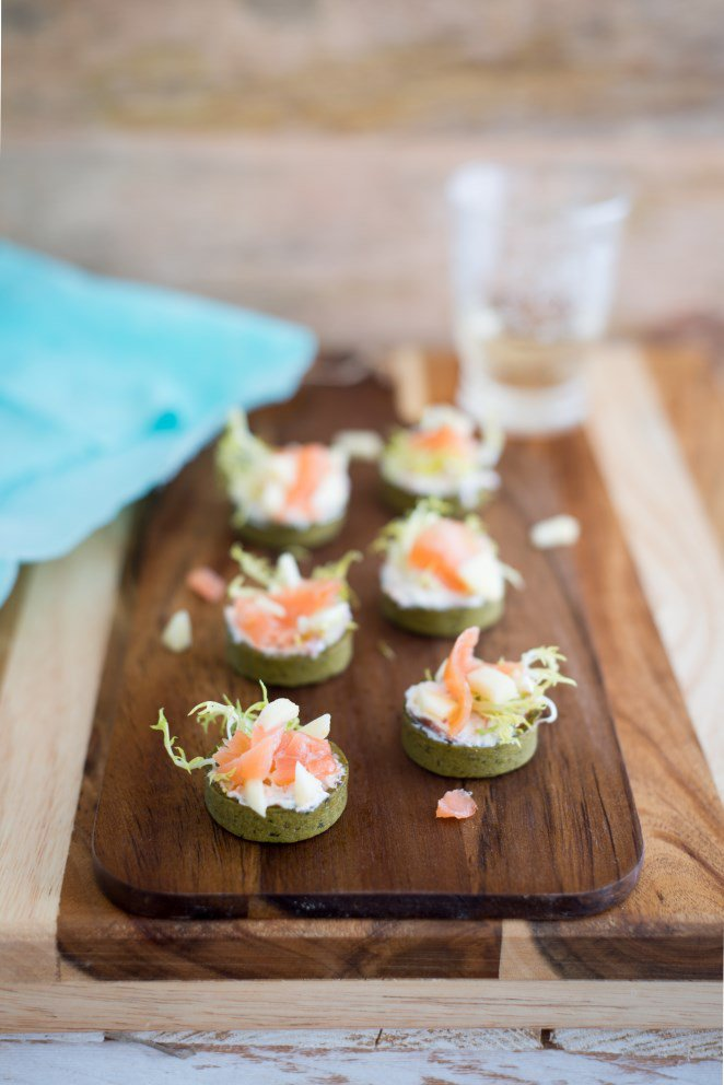 Mini Quiches mit Lachs und knackigem Gemüse … und weitere Ideen für Silvester