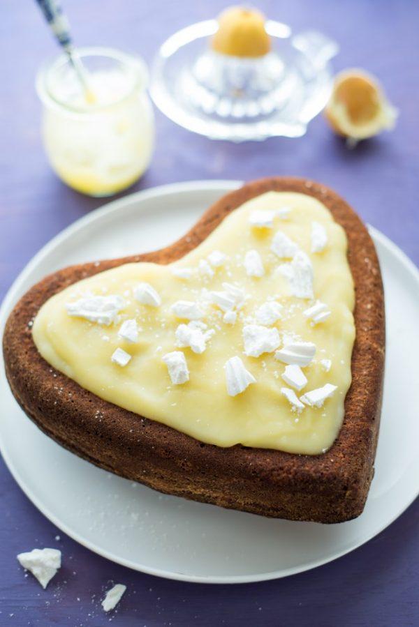 Extra zitroniger Zitronenkuchen (Gâteau tout citron)