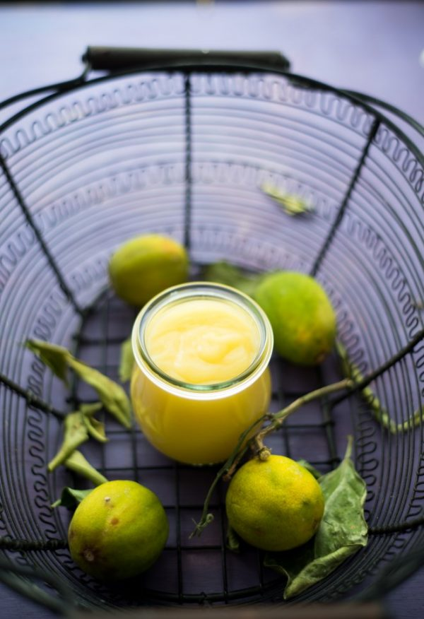 Honig-Limetten-Curd (Crème de citron vert au miel)