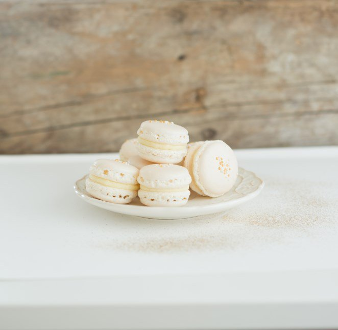 weisse-macarons