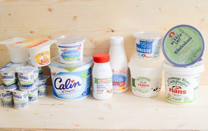 Fromage blanc, Faisselle, Petit suisse, Crème fleurette – Französische Milchprodukte einfach erklärt!